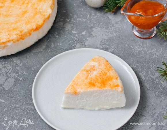 Йогуртовое суфле с абрикосовым джемом