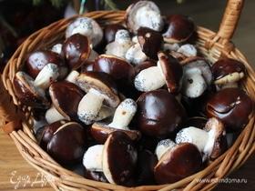 Печенье «Рождественские грибочки»