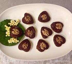 Сырники с шоколадом и орехами