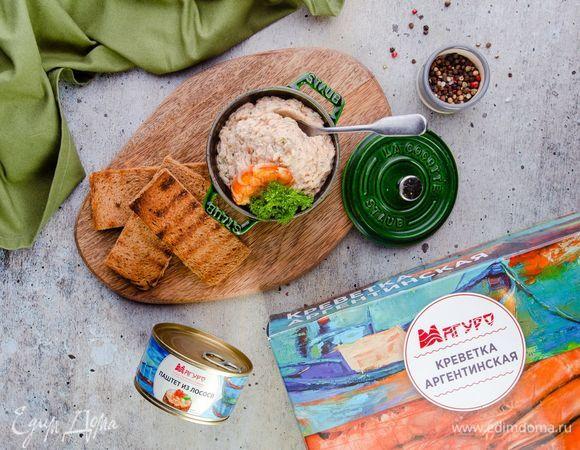 Паштет из лосося с креветками