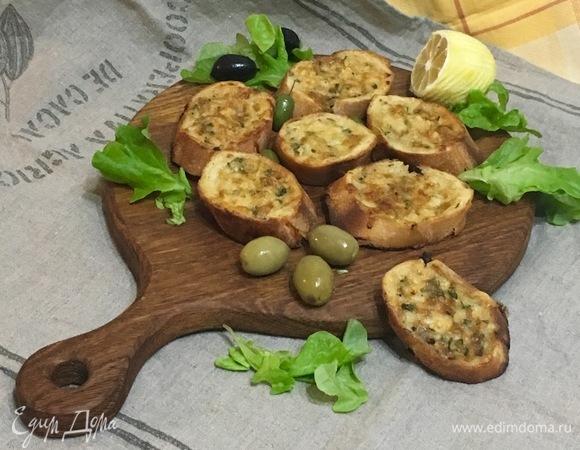 Бутерброды «Рыбные гнездышки»