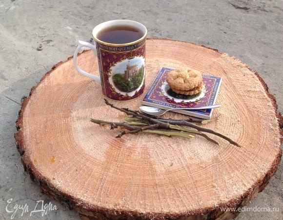 Вишневый чай по-деревенски