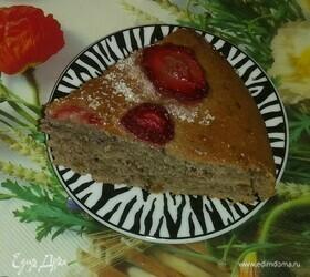 Пирог с ягодами и апельсиновыми цукатами