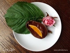 Авокадо с шоколадным пудингом