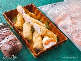 Блины с морепродуктами