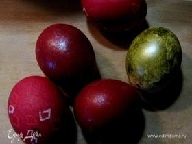 Яйца расписные