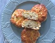 Сконы с грецкими орехами и сыром