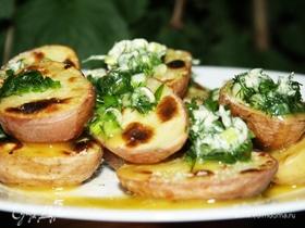 «Поющий» картофель на мангале
