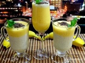 Смузи из манго с кефиром