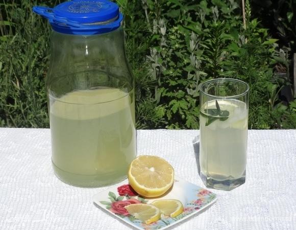 Мятно-имбирный лимонад