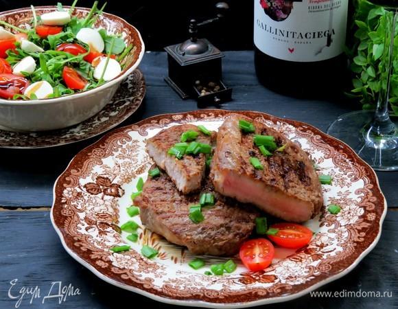 Мясо на гриле в пряном маринаде