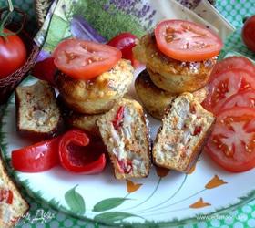 Кексы с курицей для пикника (без муки)