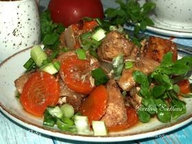 Куриное филе в томатно-медовом маринаде