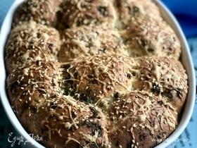 Чесночные булочки с сыром