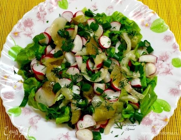 Пикантный салат