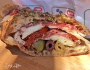 Бутерброд «Генуя» с каперсами и пармской ветчиной