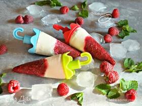 Малиново-йогуртовое мороженое