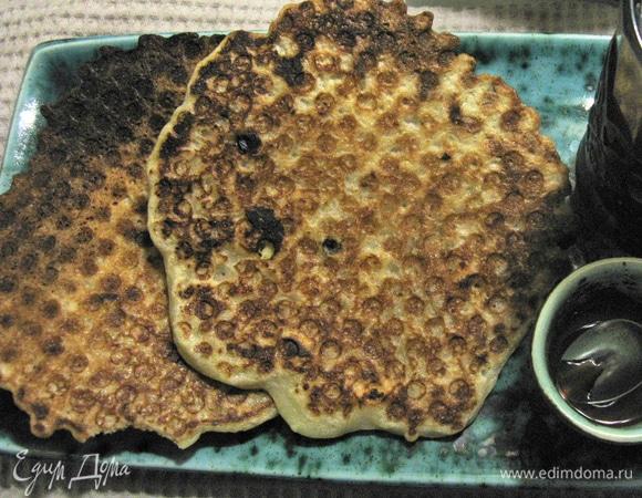 Творожные вафли с изюмом