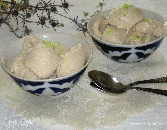 Мороженое «Йогурт с бананом»