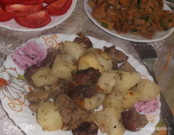 Душистый картофель со свининой