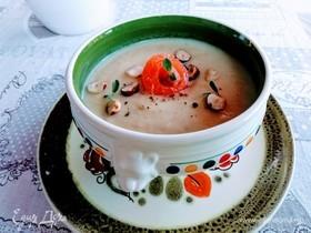 Крем-суп из сельдерея и яблок