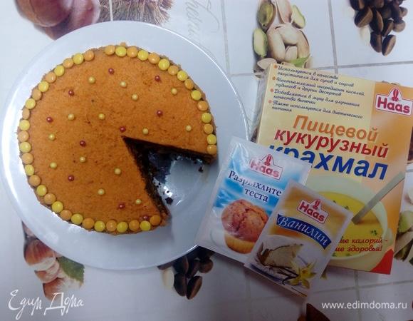 Веганский морковный торт