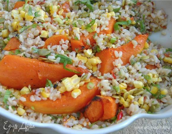 рис с тыквой от юлии высоцкой