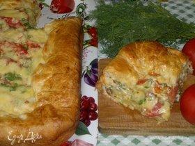 Пирог «Овощной квартет»