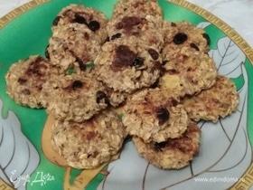 Печенье из мюсли на кефире