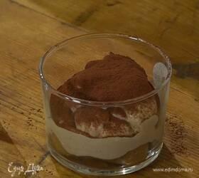Шоколадный тирамису на роме