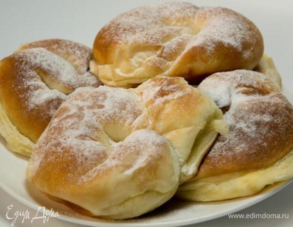 Вкуснейшие булочки с заварным кремом