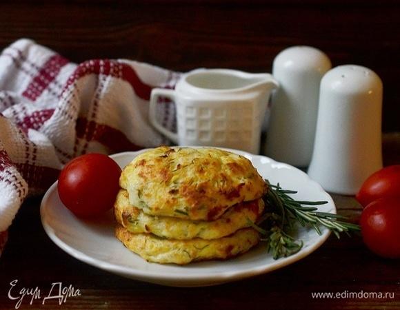 Сырники с кабачком без муки