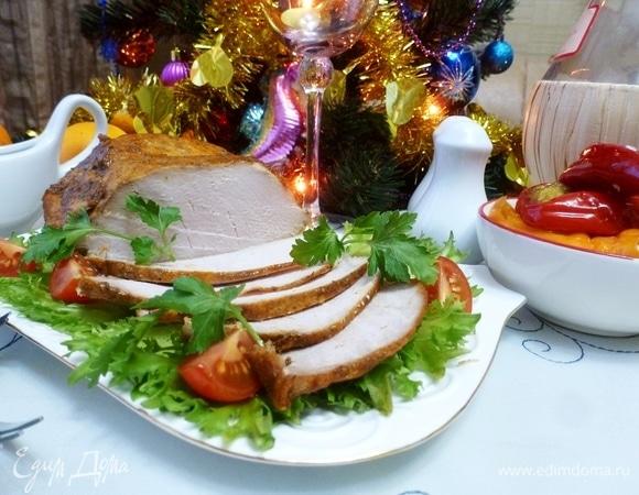Запеченная свинина «Шиворот-навыворот»
