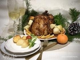 Курица в апельсиновом джеме