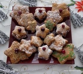 Печенье «Рождественские звезды»