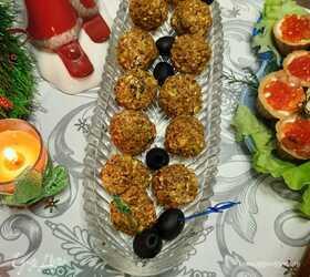 Сырно-виноградные шарики