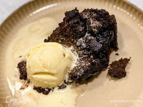 Шоколадный пудинг с нотками цитруса