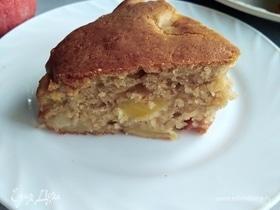 Яблочный пирог с кленовым сиропом