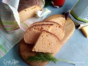 Томатный хлеб с пармезаном