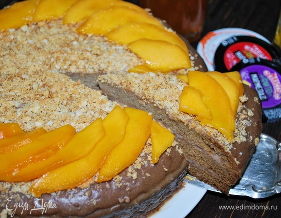 Торт «Бархатистый манго»