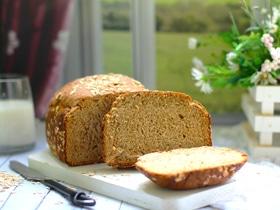 Горчичный хлеб на пиве с овсяными хлопьями