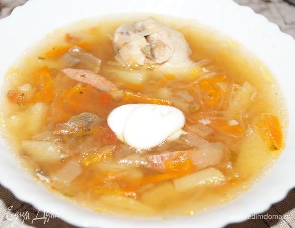 Вкусный суп в мультиварке