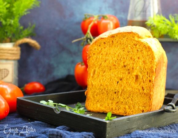 Томатный хлеб с перцем