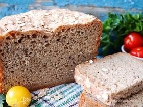 Хлеб с семенами льна и овсяными хлопьями
