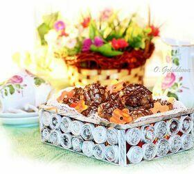 Песочное печенье с клюквой, приготовленное в СВЧ