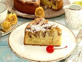 Яблочный пирог c корицей