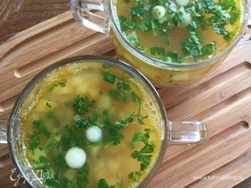 Гороховый суп с паприкой