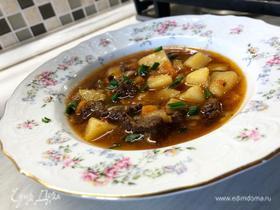 Суп-соус из говядины и овощей by Alekseev