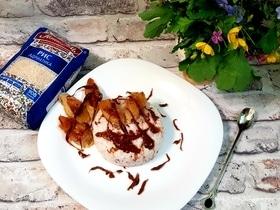 Рисовый пудинг на кокосовом молоке с карамелью