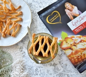 Слоеное печенье «Медовые соты»